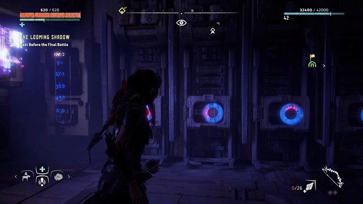 There you will find another panel - The Ancient Armory - side quest | World side quests - The world - Horizon Zero Dawn Game Guide