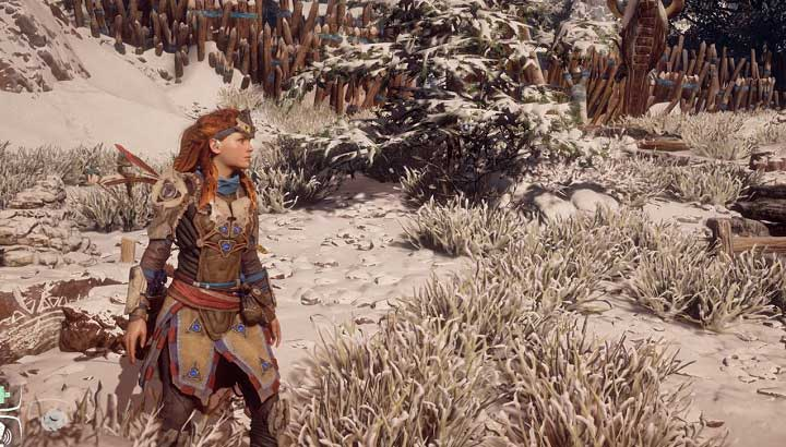 After powering up both sections, all that is left is to take the armor from the table - The Ancient Armory - side quest | World side quests - The world - Horizon Zero Dawn Game Guide