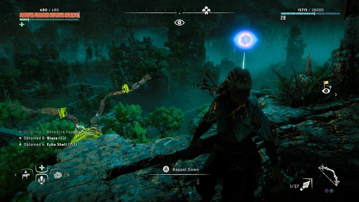 Your goal is to get to the highest point - Vantages | Collectibles - Collections - Horizon Zero Dawn Game Guide