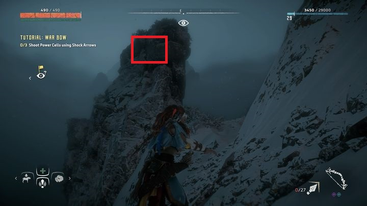 Go east from the nearest campfire - Vantages | Collectibles - Collections - Horizon Zero Dawn Game Guide