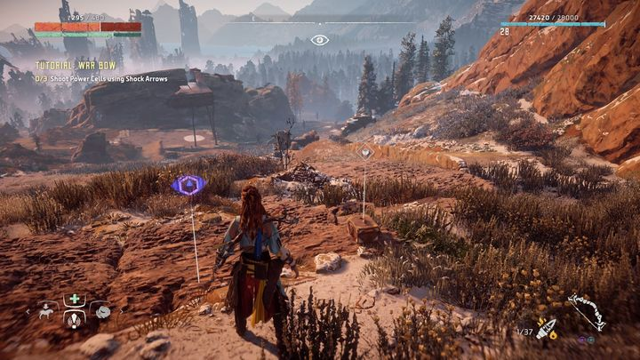 The Vantage point can be found on the right from the nearest campfire - Vantages | Collectibles - Collections - Horizon Zero Dawn Game Guide
