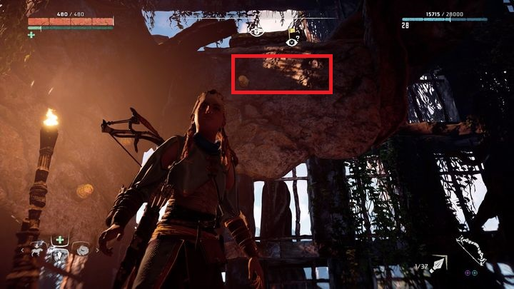 The Vantage marker leads to the highest tower, the one that you could see during Revenge of the Nora quest - Vantages | Collectibles - Collections - Horizon Zero Dawn Game Guide