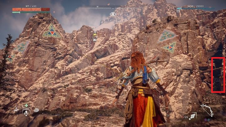 Go west from Hunters Gathering - Banuk Figures | Collectibles - Collections - Horizon Zero Dawn Game Guide