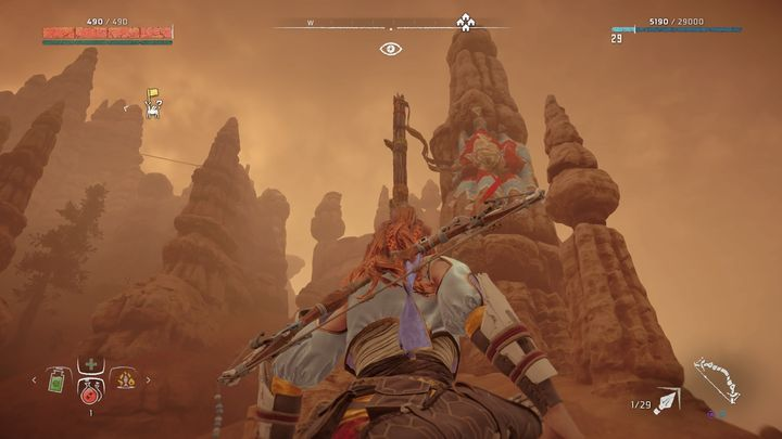 The marker is in the south of Sunfall - Banuk Figures | Collectibles - Collections - Horizon Zero Dawn Game Guide
