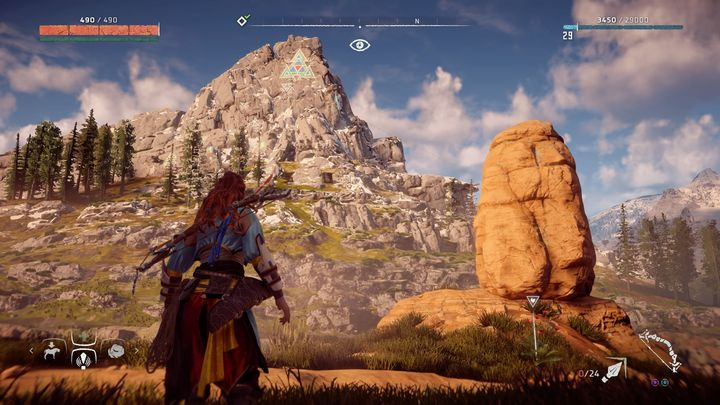 Use the campfire that you can find near the riverbed, north from the place pointed on the map - Banuk Figures | Collectibles - Collections - Horizon Zero Dawn Game Guide