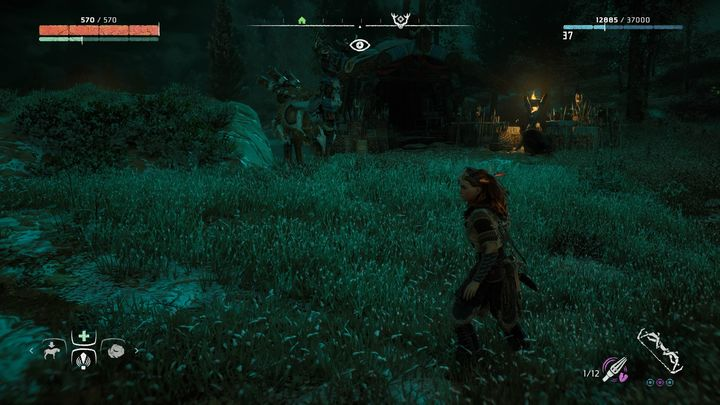 The second dummy is near the house where you had to visit Karst and buy Tripcaster during The Point of the Spear quest - Where can I find Grazer dummies in Horizon Zero Dawn? - FAQ - Horizon Zero Dawn Game Guide