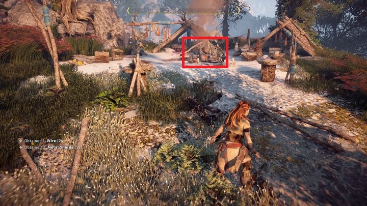 Broms camp can be found in the west - follow the quest marker - The Forgotten | Embrace side quests - Embrace - Horizon Zero Dawn Game Guide