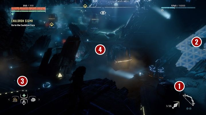 First, get to the area presented on the picture above - Cauldron SIGMA | Mothers Crown side quests - Cauldrons - Horizon Zero Dawn Game Guide