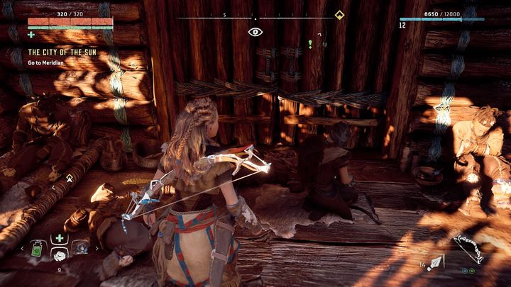After the fight with Corrupter go back to Mothers Heart - Insult to Injury | Embrace side quests - Embrace - Horizon Zero Dawn Game Guide