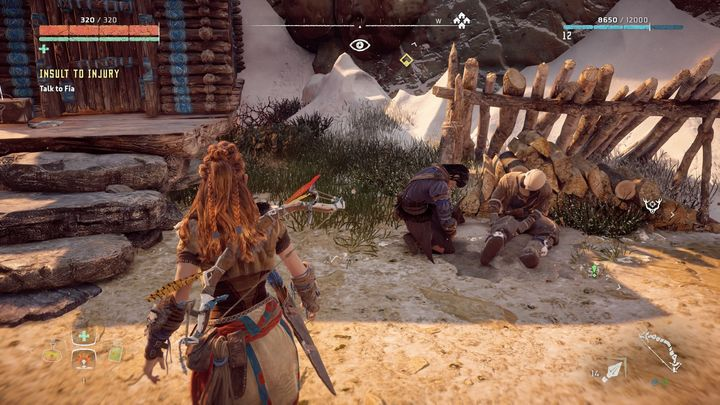 You wont find the herbs in any of the bags - Insult to Injury | Embrace side quests - Embrace - Horizon Zero Dawn Game Guide