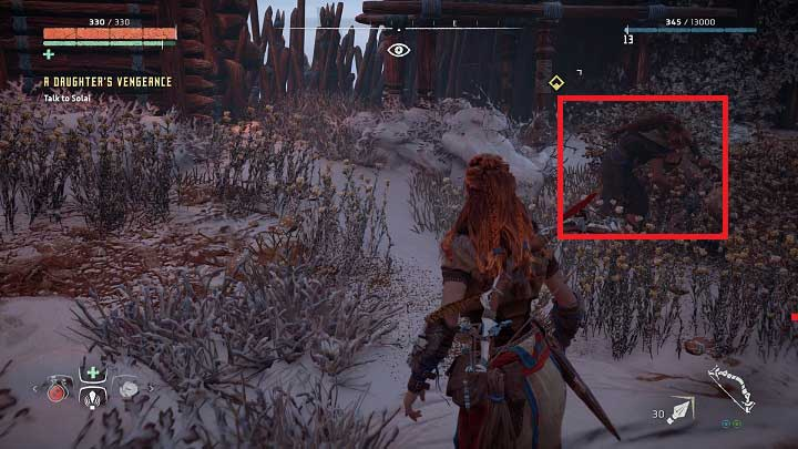 First, you must go to Mothers Crown location - A Daughters Vengance | Mothers Rise side quests - Mothers Rise - Horizon Zero Dawn Game Guide