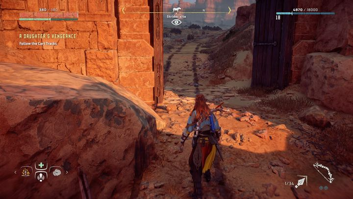 When you enter the camp you wont find any guards - A Daughters Vengance | Mothers Rise side quests - Mothers Rise - Horizon Zero Dawn Game Guide