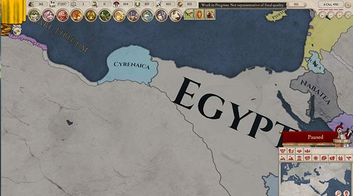 As the ruler of Egypt, you will start the game just after the death of Alexander the Great - Egypt nation - how to play in Imperator Rome? - Nations - Imperator Rome Guide