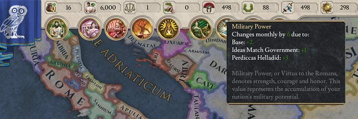 Gold - necessary for expansion, recruitment of troops, maintaining an army, paying your officials or for various diplomatic actions - Gold, resources and power points in Imperator Rome - Basic tips - Imperator Rome Guide