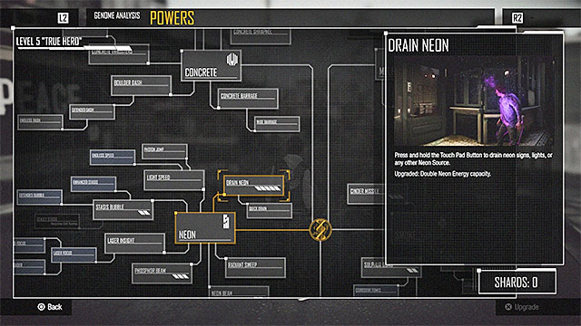 The tree of powers grows as you progress in the game - Introduction - Delsins powers - inFamous: Second Son - Game Guide and Walkthrough