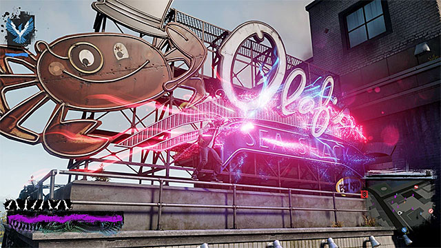 The Neon force regenerates by draining neon lights for power - Neon - Delsins powers - inFamous: Second Son - Game Guide and Walkthrough