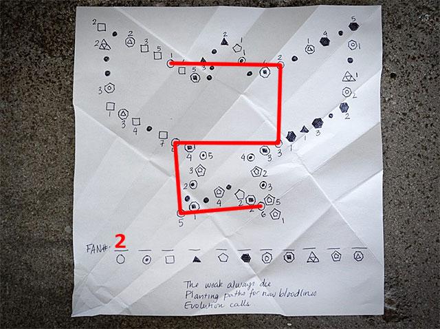 infamous paper trail part 4 help