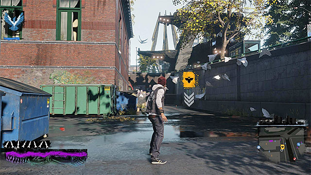 The starting point for the sixth chapter - Chapter 6, part 1 - things to do in the game - inFamous Paper Trail - inFamous: Second Son - Game Guide and Walkthrough