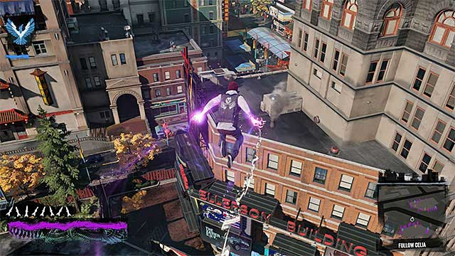 While following Celia, use paper trails for navigation - Chapter 6, part 1 - things to do in the game - inFamous Paper Trail - inFamous: Second Son - Game Guide and Walkthrough