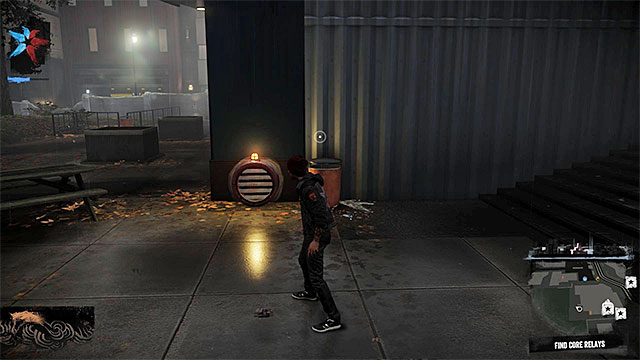 Shaft which can allow you to get to the building with the first core - 2: Catching Smoke - Walkthrough - inFamous: Second Son - Game Guide and Walkthrough