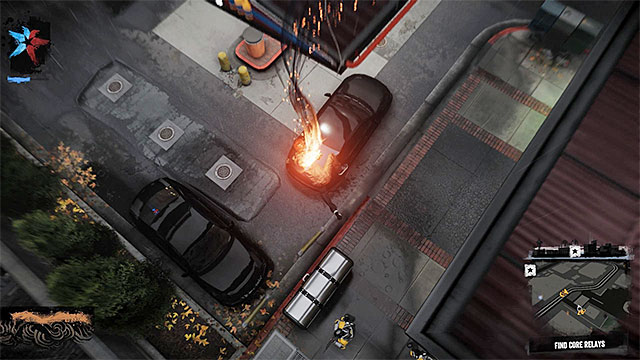 A strong hit on the ground is a good way to start most battles - 2: Catching Smoke - Walkthrough - inFamous: Second Son - Game Guide and Walkthrough