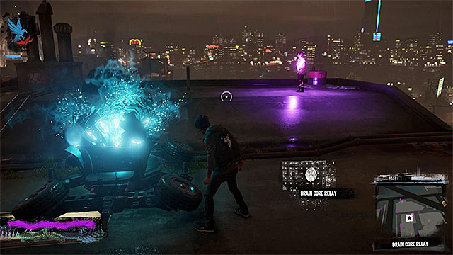 The first core is on the roof - 6: Light It Up - Walkthrough - inFamous: Second Son - Game Guide and Walkthrough