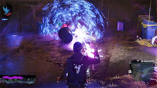 Stasis Bubble power temporarily stops enemies - 6: Light It Up - Walkthrough - inFamous: Second Son - Game Guide and Walkthrough