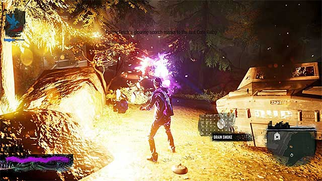 Destroy the armored vehicles - 6: Light It Up - Walkthrough - inFamous: Second Son - Game Guide and Walkthrough