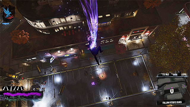 It is best to attack the enemies gathered around the core with a powerful blast in the ground - 6: Light It Up - Walkthrough - inFamous: Second Son - Game Guide and Walkthrough