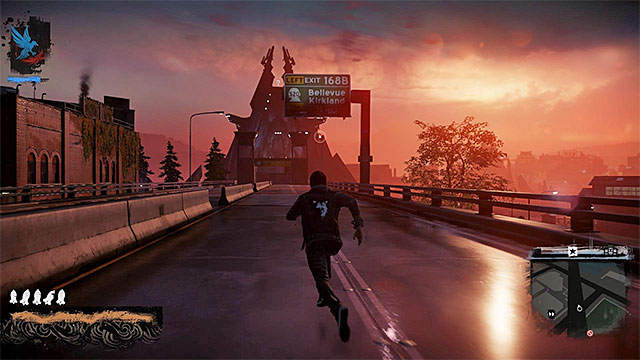 The road that leads to the bridge - 8: The Test - Walkthrough - inFamous: Second Son - Game Guide and Walkthrough