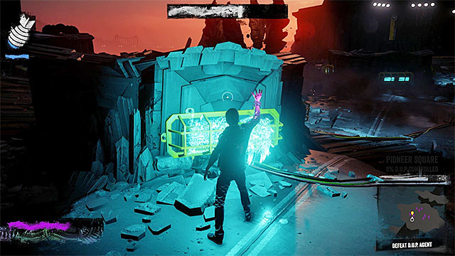 Do not absorb energy from neon lights while you are exposed for the boss's attacks - 8: The Test - Walkthrough - inFamous: Second Son - Game Guide and Walkthrough
