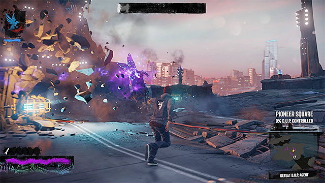 Use Phosphor Beam attack, but remember to regularly refill heavy ammunition supply - 8: The Test - Walkthrough - inFamous: Second Son - Game Guide and Walkthrough
