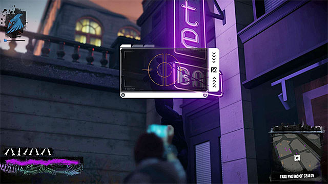 Keep looking for interactive locations and take pictures of them - Chapter 1, part 2 - things to do in the game - inFamous Paper Trail - inFamous: Second Son - Game Guide and Walkthrough