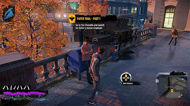 Starting place of the third mission - Chapter 1, part 3 - things to do in the game - inFamous Paper Trail - inFamous: Second Son - Game Guide and Walkthrough