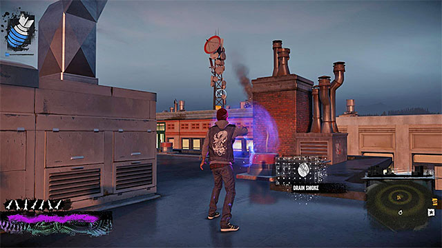 Waterfront - more difficult activities | City - inFamous ... on infamous second son map, infamous blast shards, infamous dead drops,
