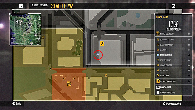 Denny Park - more difficult activities | City - inFamous: Second Son on infamous last level, infamous ps3, infamous 2 bird locations, dead drop locations map, blast shards ps3 map, infamous 1 shard locations, lost hatch map, infamous dead drops, dead town jak 2 map, infamous 2 pigeon locations, harvard map,