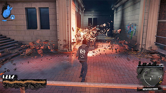 Be careful of the elite enemies and do not leave them for later - Downtown - District Showdown - City - inFamous: Second Son - Game Guide and Walkthrough