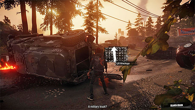 Use touchpad to lift the heavy element - Prologue: The Visitors - Walkthrough - inFamous: Second Son - Game Guide and Walkthrough