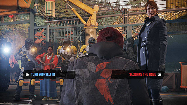 It is here that you run into Augustine for the first time and you will have to take an important decision, towards the end of the meeting (the above screenshot) - Prologue: The Visitors - Walkthrough - inFamous: Second Son - Game Guide and Walkthrough