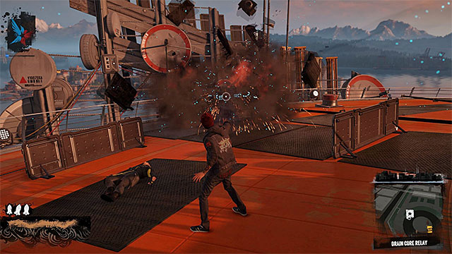 Core is hidden inside metal casing - 3: The Gauntlet - Walkthrough - inFamous: Second Son - Game Guide and Walkthrough
