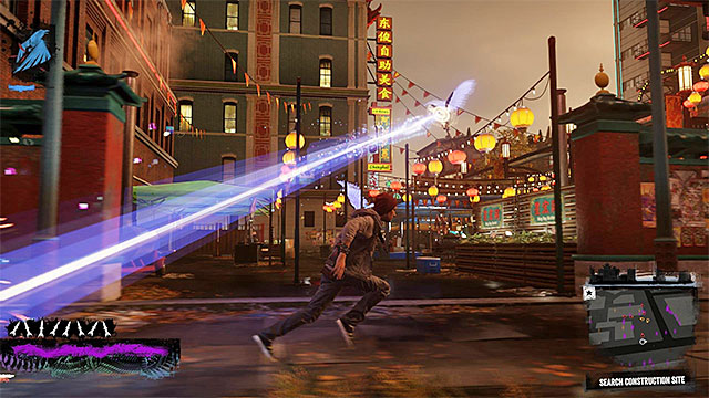 Keep fighting the gangsters and the angels, while checking on the successive marked areas - 10: Reggie takes Flight - Walkthrough - inFamous: Second Son - Game Guide and Walkthrough