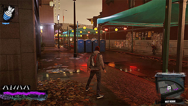 Where you meet Reggie - 10: Reggie takes Flight - Walkthrough - inFamous: Second Son - Game Guide and Walkthrough