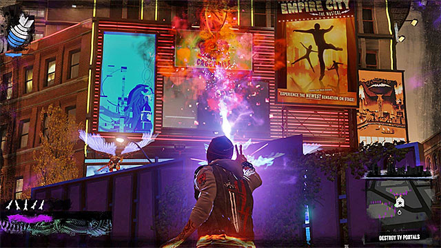 Destroy those LED displays used as portals - 10: Reggie takes Flight - Walkthrough - inFamous: Second Son - Game Guide and Walkthrough