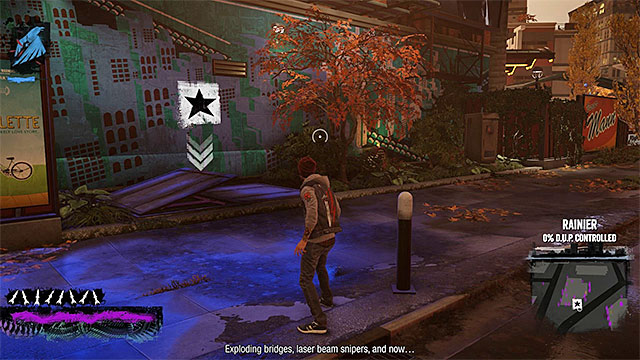 Beginning of the mission - 11: Heavens Hellfire - Walkthrough - inFamous: Second Son - Game Guide and Walkthrough