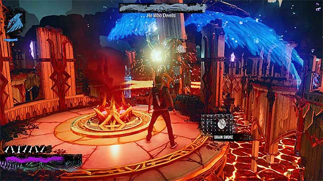 You can use both Smoke and Neon powers to attack angel - 11: Heavens Hellfire - Walkthrough - inFamous: Second Son - Game Guide and Walkthrough