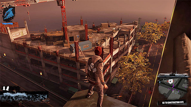 Construction Site - 13a: Flight of Angels - Walkthrough - inFamous: Second Son - Game Guide and Walkthrough