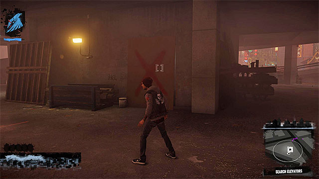 After clearing out the vicinity, start searching the areas where youre lead by the markers on the minimap (like on the screen above) - 13a: Flight of Angels - Walkthrough - inFamous: Second Son - Game Guide and Walkthrough