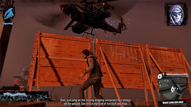 Transport Helicopter - 13a: Flight of Angels - Walkthrough - inFamous: Second Son - Game Guide and Walkthrough