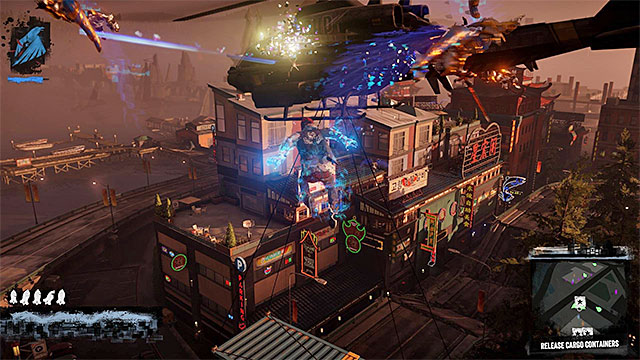 Use proper powers to get to the next containers - 13a: Flight of Angels - Walkthrough - inFamous: Second Son - Game Guide and Walkthrough