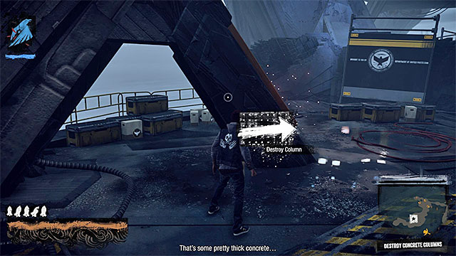 Use the touchpad - 15: Quid pro Quo - exploration of the prison - Walkthrough - inFamous: Second Son - Game Guide and Walkthrough